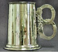 Handcuffs Handle Pewter Tankard