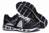 Quality Mens Nike Air Max Tailwind + 2010 Flywire Mesh (black /white) for sale