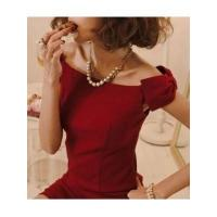 European Fashion Style Sleeveless Off the Shoulder Boat Neck Bowtie Lady Night Out Dress Manufactures
