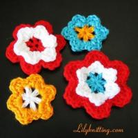 Buy cheap PATTERN  A Set of Crocheted Flower Applique from wholesalers