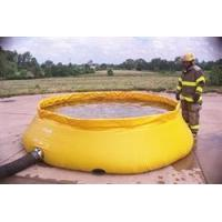 Self-Supporting Frameless Portable Water Tank Fire Department Model (Low Side) Manufactures