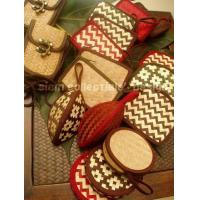 bamboo strips coin purse. Manufactures