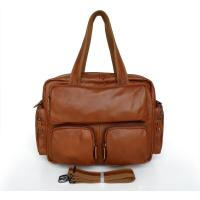 3009B Great Leather Brown Handbag Shoulder Messenger Bag