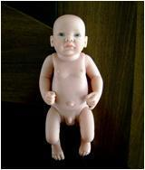 Reborn baby doll without clothing Manufactures