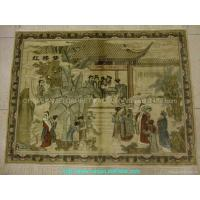 Double Knots Art handmade pure silk rug Manufactures