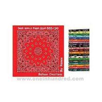 Paisley II Collection - Light Blue - Imported paisley design bandanna made of 100% cotton. Manufactures