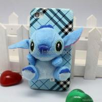 Stereo various 3D lint cartoon hard case for iphone 4G 4S Manufactures