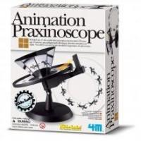 Toys, Puzzles, Games & More 4M Kidz Labs Animation Praxinoscope Manufactures