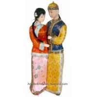 Collectible Chinese Dolls - Couple #199 Manufactures