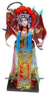 Quality Collectible Chinese Doll - Chinese Opera Doll / Mu Guiying #191 for sale