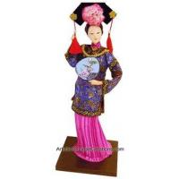 Collectible Chinese Dolls - Princess Holding Fan #8 Manufactures