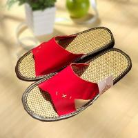 Household comfortable couple leather slipper Manufactures