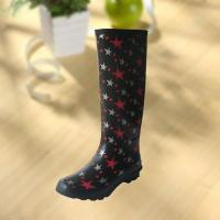 Fashion Star Pattern Rubber Knee Boot For Woman Manufactures