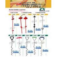 BAMBOO CAT LITTERS Tie Out Stakes Manufactures