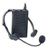 China Audio Visual & Presentation Black Wireless Mic - Headset on sale