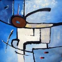 original paintings modern abstract 9 paintings:28350 Manufactures