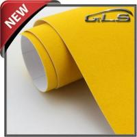 2014 New Arrival Car Body Sticker Velvet Vinyl Wrap Film With Air Bubbles Manufactures