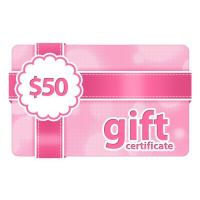 $50 Gift Certificate Manufactures