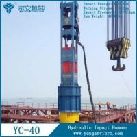 Cheap YC-40 Hydraulic Pile Driving Hammer for sale