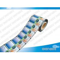 China Metallized Plastic Food Packaging Roll Stock Film on sale