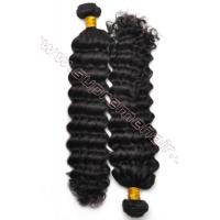 China Unprocessed Best Virgin hair deep curly brazilian hair extensions on sale