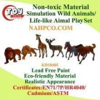 Non-toxic Material Life-like Wild Animals Play Set(6 Asst) Manufactures