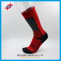 Fashion Red And Black Color Compression Socks Manufactures