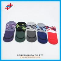 New Arrival Custom Boys Colorful Invisible Socks Manufactures