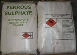 Quality Ferrous Sulphate heptahydrate for sale
