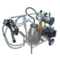 China Vacuum Pump Type Single-cow Milking Machine on sale