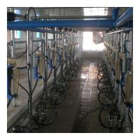 China Electronic Milk Meter Type Herringbone Milking Parlor on sale