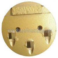 3 Segments PCD Grinding Plates Manufactures