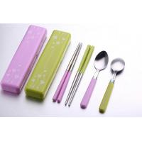 2 in 1 Travel Plastic Cultery Set BDSH321