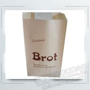Quality Bakery Paper Packing Bag with Transparent Window for sale