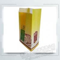Kraft Bread Food Packing Paper Bags with Clear Window Manufactures