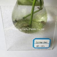 clear glitter acrylic sheet Manufactures