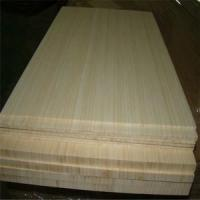 Natural Colour and Vertical Pressed Bamboo Slabs as Furniture Facing Manufactures