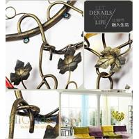 Wall-mounted Iron Wine Rack Wall-hanging Style design Home decoration Metal craft Manufactures