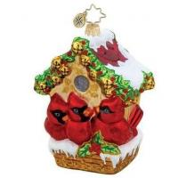 Christmas birds house Manufactures