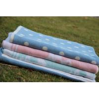 China Baby Cotton Blanket on sale