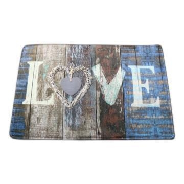 Quality Washable love design doormat for sale