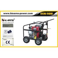 Portable 4-stroke air-cooled diesel water pump Manufactures