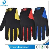 Touch Screen Cycle Gloves CGMT053 Manufactures