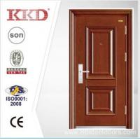 New Design Steel Security Door KKD-202 With Mosa/Matte Paint and Steel Convex/Carved Manufactures