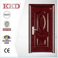 Luxury Steel Security Door KKD-205 With Steel 3D Panel And Convex From China Manufacture Manufactures