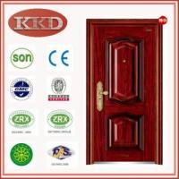 Luxury Entry Steel Door KKD-332 for Residential Apartment Manufactures