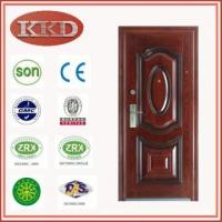 Residential Anti-theft Steel Door KKD-337 for Egypt Manufactures