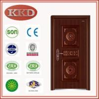 Standard Size Steel Security Door KKD-504 with Luxury Design for Residential Use Manufactures