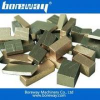 Diamond segments - block cutting Manufactures