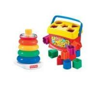 Buy cheap Fisher-price Babys First Blocks And Rock Stack Bundle by Fisher-Price from wholesalers